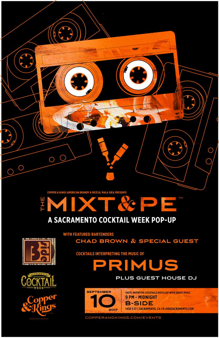 Mixtape Poster B-SIDE Sept 10 2017